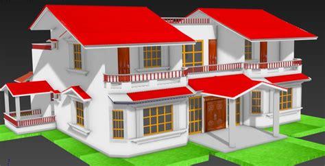 3d Duplex House Models 3d duplex house model turbosquid 1192394