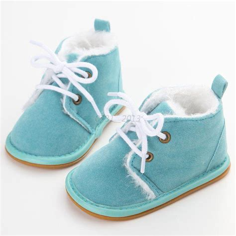 Baby Crib Sneakers Newborn Baby Infant Toddler Boy Snow Boots Crib Shoes Prewalker 0 18months Ebay