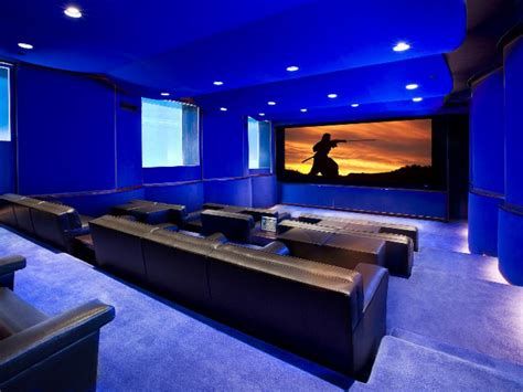 home theatre design on a budget media rooms and home theaters by budget hgtv