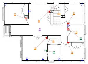 electrical floor plan building our castle fowler homes electrical plans with