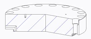pro e section view solved multiple cut section views in drawings ptc user