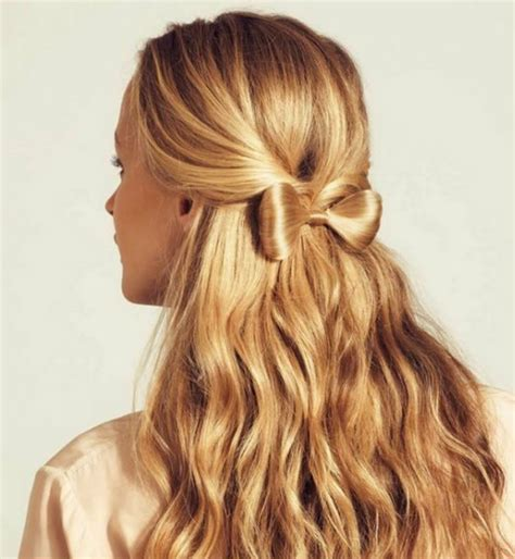 cool updos hairstyle for medium lovely hair bow hairstyle ideas haircuts and hairstyles