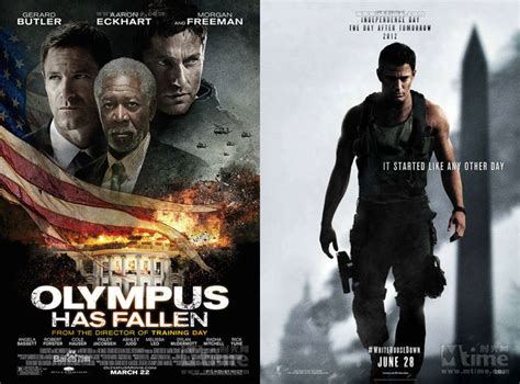 white house down vs olympus has fallen best solution to back up dvd olympus has fallen to other formats