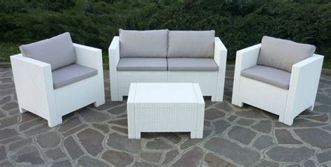 New Rattan Wicker Conservatory Outdoor Garden Furniture White Outdoor Wicker Furniture