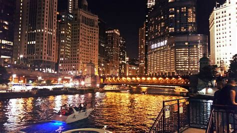 city of chicago light locations chicago river