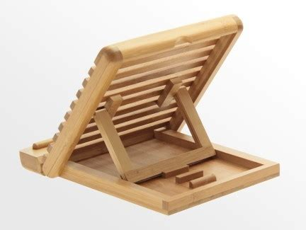 Ipad Stand Tablet Holder Bamboo Office Supplies