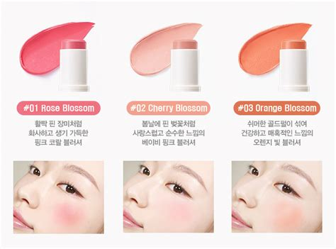 Makeup Innisfree innisfree mineral fit stick blusher highlighter shading 10g 11street malaysia blushers