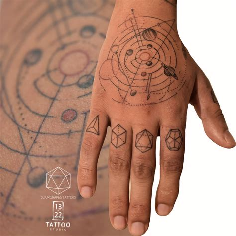 kid cudi hand tattoo the world s newest photos of geometry and flickr