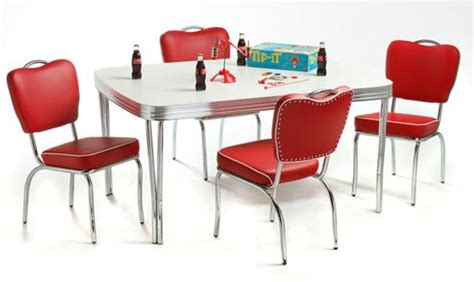 Diner Kitchen Table Retro Dining Chairs Kitchen Table