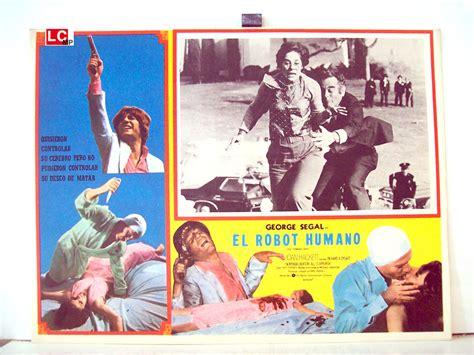 film robot umano quot el robot humano quot movie poster quot the terminal man quot movie