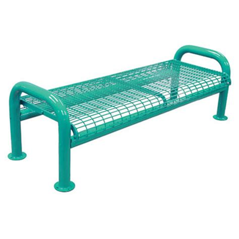 wire bench u leg wire bench without back