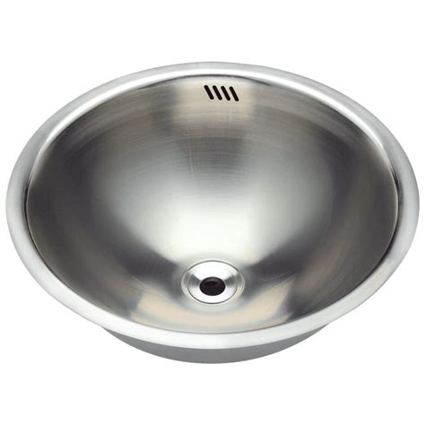 mr direct bathroom sinks mr direct dual mount bathroom in stainless steel 420