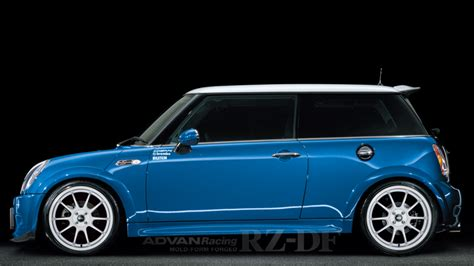 Mini Advan yokohama wheel brand advan racing rz df for mini