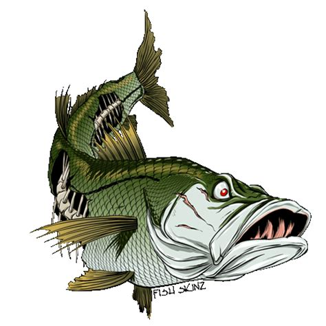 fish skinz decals clipart best