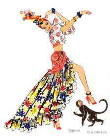 latin american folk dress archive costume history