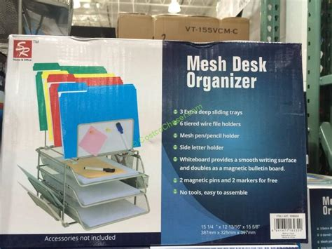home office desk organizer mesh desk organizer by home office with whiteboard