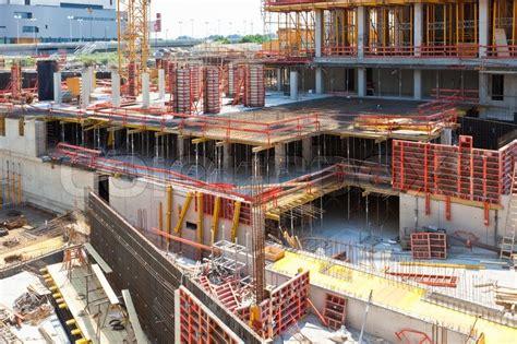 Large Estate House Plans building construction site stock photo colourbox