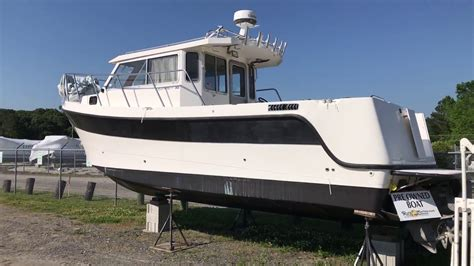 used pilot house fishing boats for sale used 2001 osprey 30 pilothouse for sale youtube