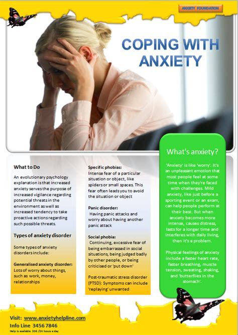 10 best images of stress brochure templates stress