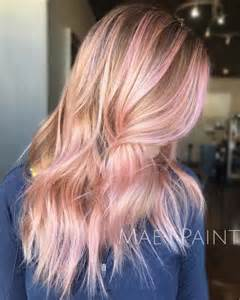 pink highlighted hair 50 pink hair is here to stay