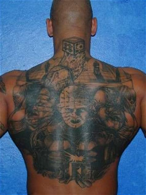 hellraiser tattoo 145 best hellraiser tattoos images on horror