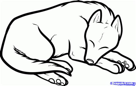 how to draw dogs and puppies how to draw a sleeping sleeping step by step pets animals free