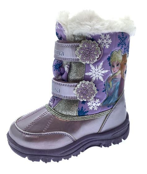kid snow boots disney frozen elsa snow boots waterproof