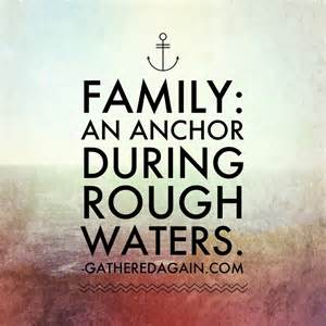 Family is art in its imperfect loving human form family an anchor