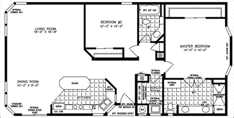 House Plans With Casitas by 1200 To 1399 Sq Ft Manufactured Home Floor Plans
