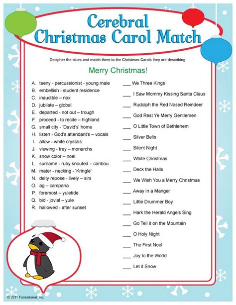 free printable christmas song lyric games 1940 best images about christmas inspirations recipes
