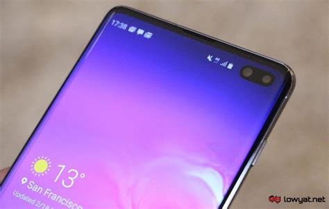 Samsung Galaxy S10 Plus by Samsung Galaxy S10 Plus On A Refined Lowyat Net