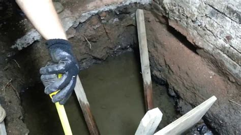 high water table basement install concrete footing in high water table new york city