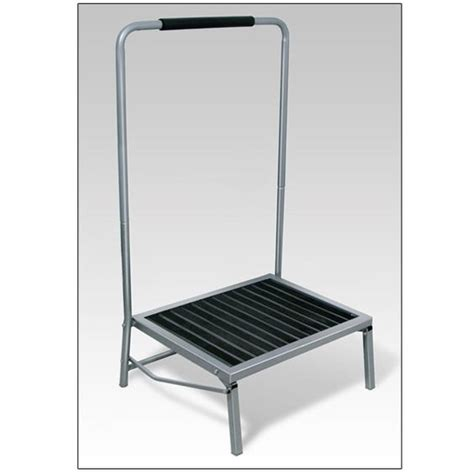 wide folding step stool with handle stools