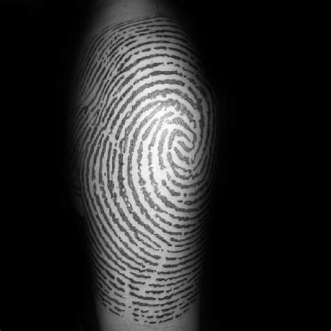 top   fingerprint tattoos  men masculine designs