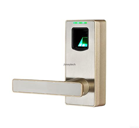 Cheap Fingerprint Door Lock by New Zinc Alloy Metal Security Smart Lock Cheap Biometric