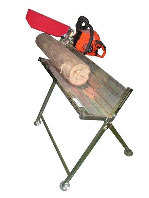 log cutting saw bench chainsaw log horse saw tressle stand holder chain fire wood cutting table holder ebay