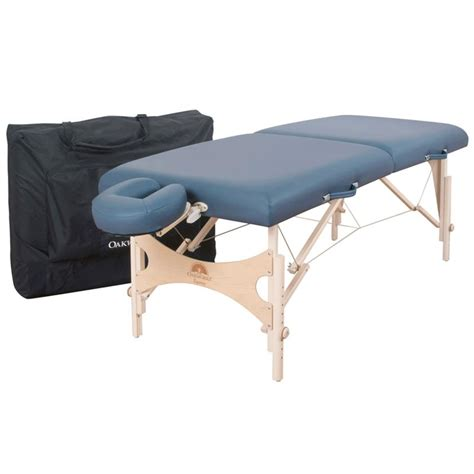 oakworks equinox portable massage table package massage
