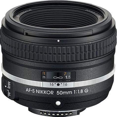 Lensa Nikkor Af S 50mm F 1 8g nikon af s nikkor 50mm f 1 8g special edition lens 2214 b h