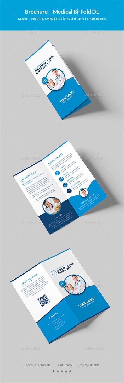 Brochure Medical Bi Fold Dl By Artbart Graphicriver Dl Size Flyer Template