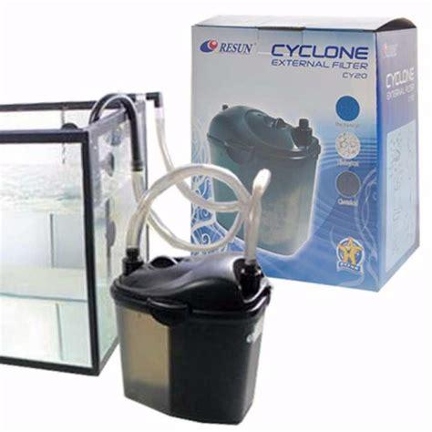 resun cy20 cy 20 cyclone external filter for aquariums