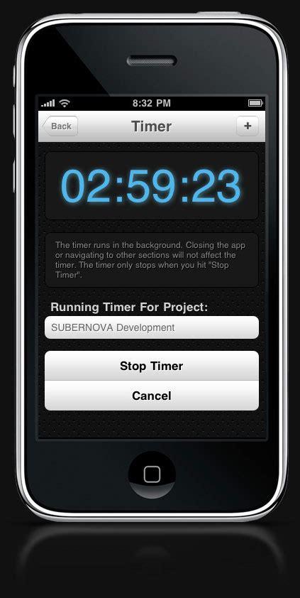 timer for iphone timer for subernova s iphone version subernova