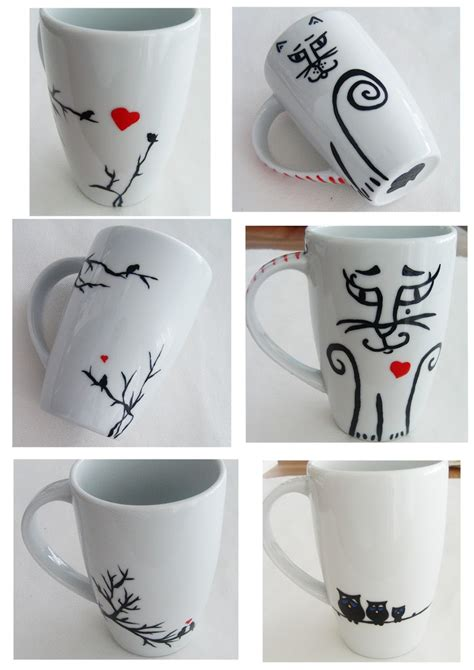 mug design pinterest handpainted mug design mugs pinterest
