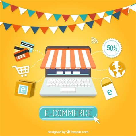 e commerce images e commerce background vector free