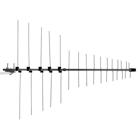 element log periodic tv antenna vhf uhf fm hdtv digital