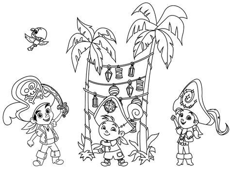 dibujos para pintar jake y los piratas dibujos animados para colorear jake y los piratas de