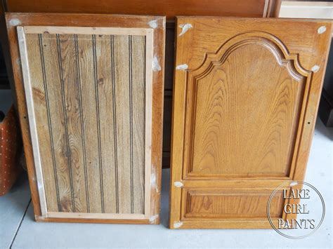 bead board added to kitchen cabinet doors search