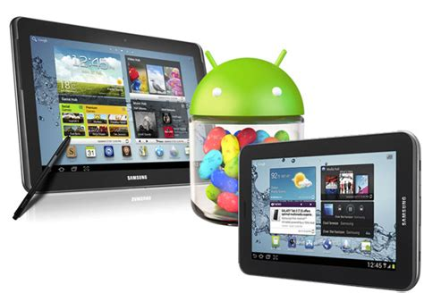 Samsung Galaxy Note 10 1 Android 7 by Leaked Android 4 1 1 Jelly Bean Update For Galaxy Tab 2 7 0 And Galaxy Note 10 1