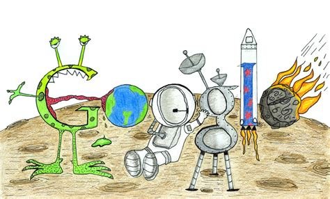 doodle 4 winner 7 year s winning doodle to be showcased on the