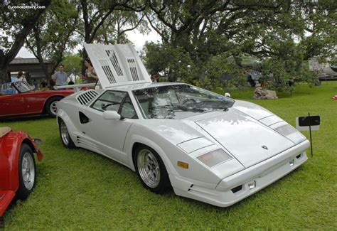 1989 Lamborghini Countach 1989 Lamborghini Countach 25th Anniversary At The Keels