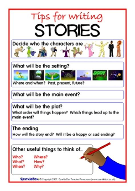 ks2 ideas for writing story writing and fiction teaching resources and